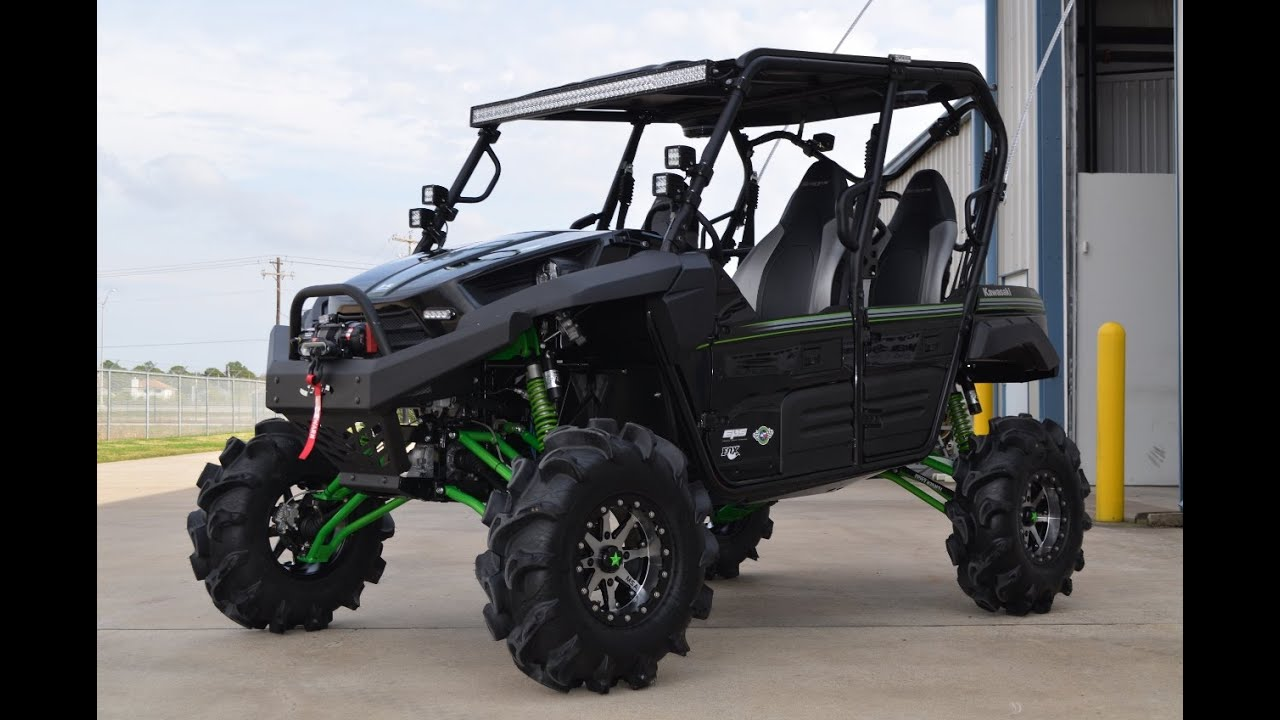 2015 kawasaki teryx4 with 8 inch lift and 32 inch tires monster