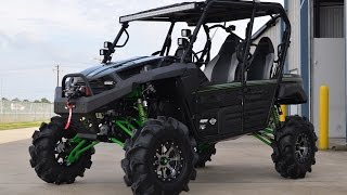 Gambar cover 2015 Kawasaki Teryx4 with 8 Inch Lift and 32 Inch Tires  Monster Build by Mainland Cycle Center