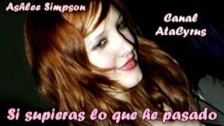 Ashlee Simpson - Love me for me (Traducida al Español)
