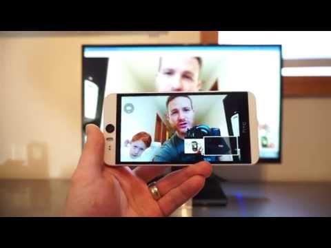 HTC Desire Eye advanced video calling