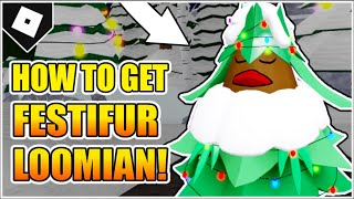 How to get FESTIFUR + DECORATIVE LIGHTS in LOOMIAN LEGACY! [ROBLOX]