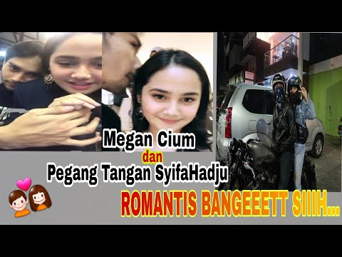 Romantis..Megantara cium mesra dan pegang tangan SyifaHadju.. perhatian banget siiihh #BikinBaper