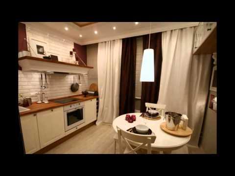Дизайн 9 метровой кухни