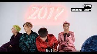 BIGBANG Türkçe Altyazılı - Komik Kiss Muhabbeti
