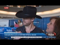 watch he video of Country singer Paul Brandt eats awful tasting pie on live TV