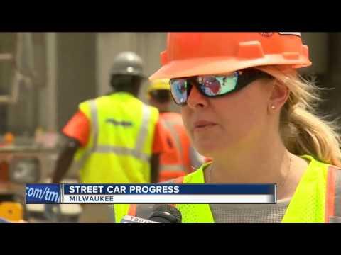 Milwaukee Streetcar construction enters next phase