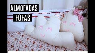 DIY- ALMOFADAS DECORATIVAS NUVEM E GOTA FÁCIL- DAYSE COSTA