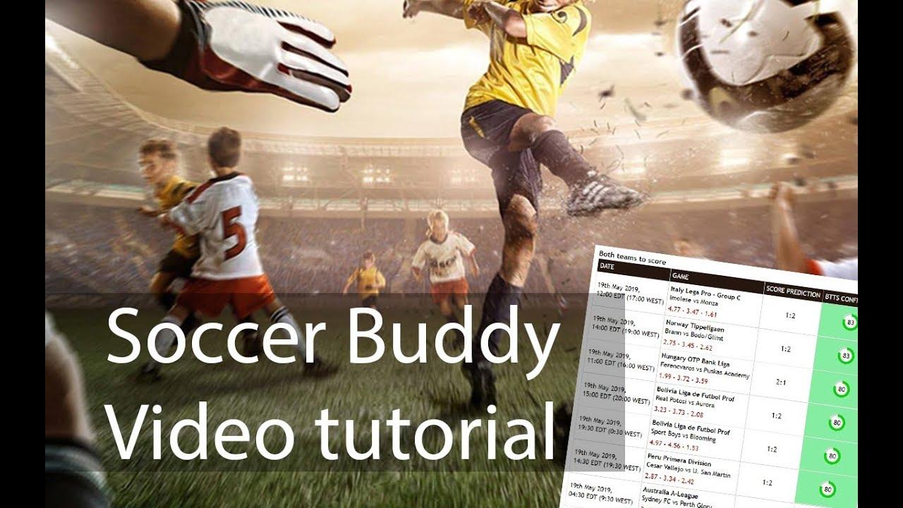 Soccer Buddy - Football prediction and picks tool