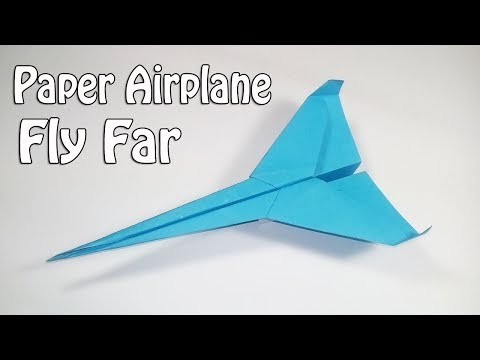 How to make the fastest paper airplane in world 2020