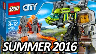 LEGO CITY Volcano Heavy-Lift Helicopter (60125) 2016 Summer Set ALL Official Pictures - レゴ シティ