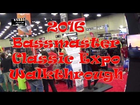 2016 Bassmaster Classic Expo 5 Minute Tour, Tulsa, Oklahoma: Episode 285