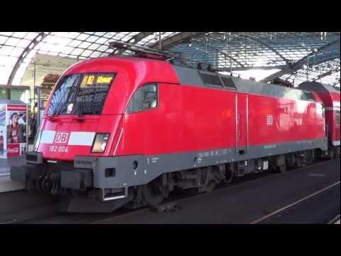 DB Siemens Taurus Locomotive. Nice starting sound