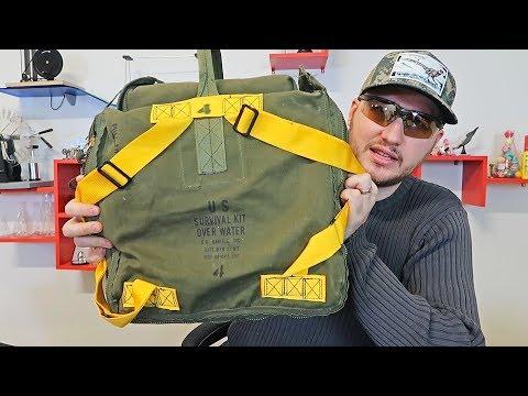 1980 US Military Pilot Survival Kit
