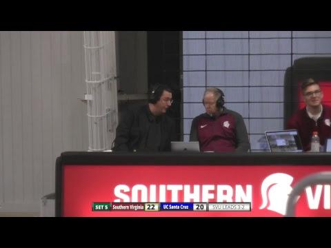 Southern Virginia University Men's Volleyball vs UC Santa Cruz