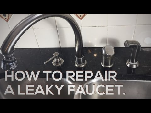 How To Repair Leaky Delta Faucet