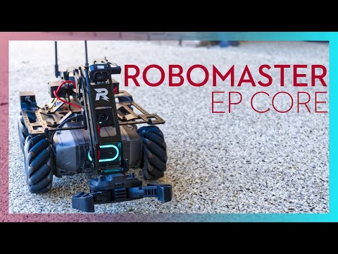 DJI RoboMaster EP Core unboxing, build, first look & review - dronenr