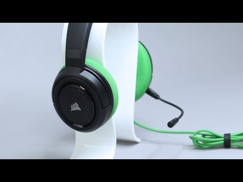 Corsair HS35 Stereo Gaming Headset Review