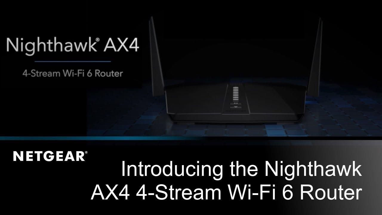 Netgear unveils the Nighthawk AX4: The first Intel-based Wi