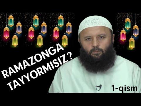 RAMAZONGA TAYYORMISIZ? 1qism-(Shayx