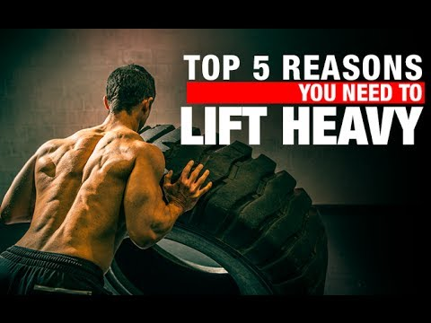 Top 5 Reasons You NEED to LIFT HEAVY!! (Important)