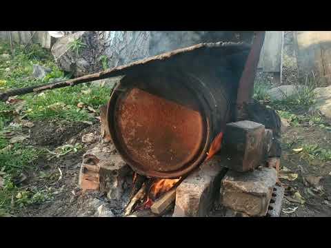 Древесный уголь своими руками