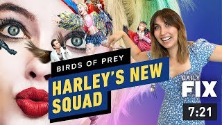 Birds of Prey New Poster Shows Off Harley's New Squad - IGN Daily Fix