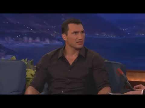 Wladimir Klitschko funny interview