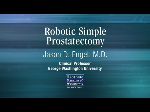 Robotic Simple Prostatectomy