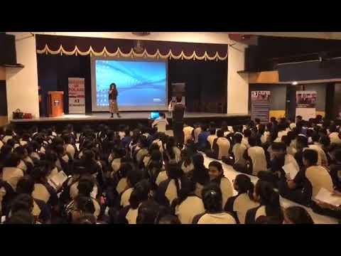 Exotic web media : Education in poland seminar at sanskar bharti school surat