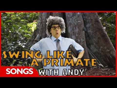 CBeebies Songs | Andy's Monkey Song!
