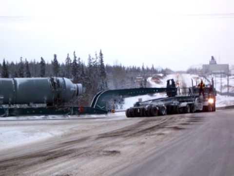 Alaska Heavy Haul Carlile Transportation