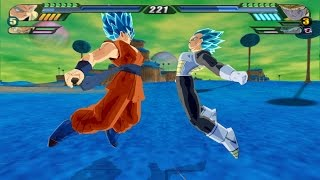 Vegeto Blue Super Saiyan God VS Golden Metal Cooler (Dragon Ball Z Budokai Tenkaichi 3 mod)