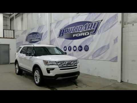 2018 Ford Explorer XLT 202A W/ 3.5L, Leather Overview | Boundary Ford