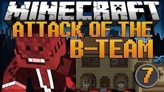 Minecraft: House Build-off! Attack of the B-Team Modded Survival #7