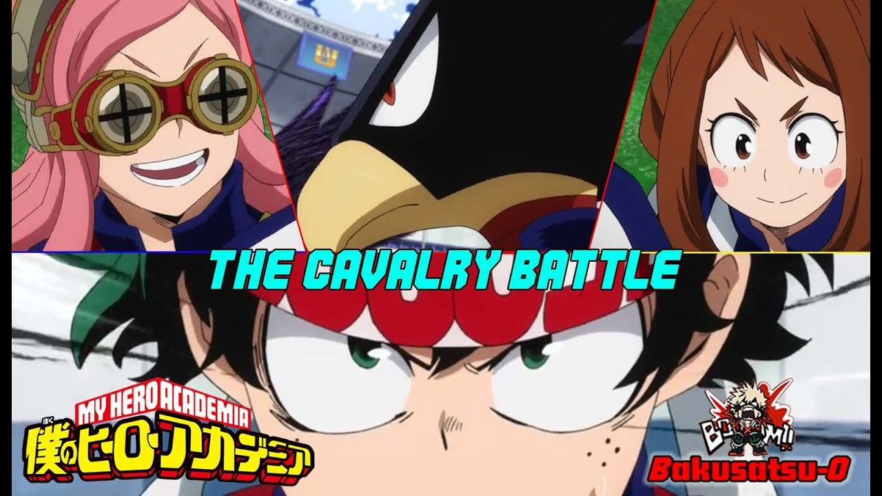 UA Sports Festival | The Cavalry Battle | Boku No Hero Academia