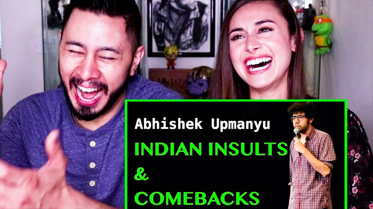 Download ABHISHEK UPMANYU   INDIAN INSULTS & COMEBACKS   Stand-up Comedy   Reaction!