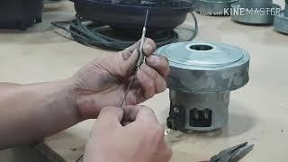 Cleaner motor repair 청소기 모터 직접…