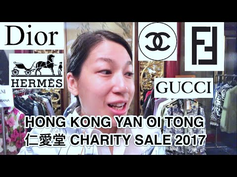 HONG KONG VLOG 132 | YAN OI TONG 仁愛堂 CHARITY SALE 2017: HERMES • CHANEL • GUCCI • FENDI • DIOR
