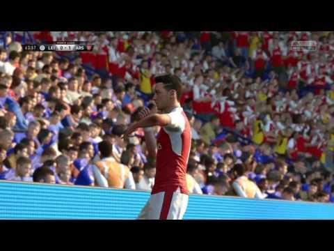 FIFA 17 Özil wonderful goal