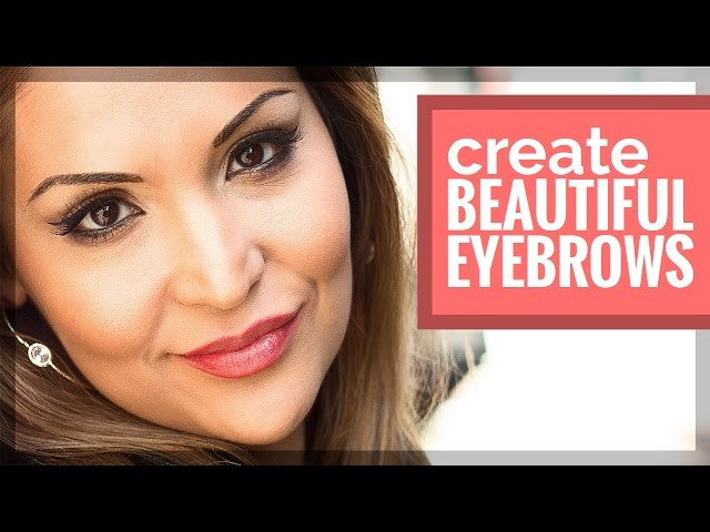 High End Retouching Creating Beautiful Eyebrows With Brush In