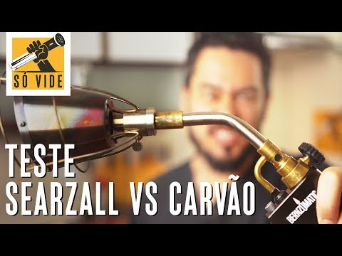 TESTE SEARZALL VS CARVÃO | SÓ VIDE #72