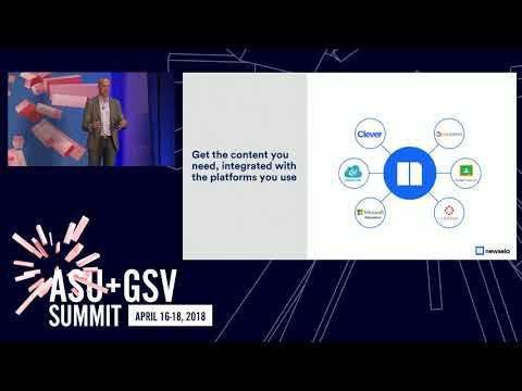 ASU GSV Summit: Thought Leaders: Newsela
