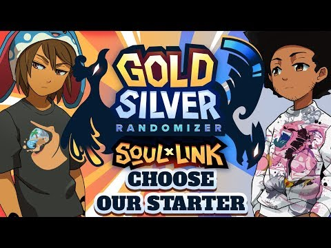 CHOOSE OUR STARTER! - Pokemon Gold & Silver Randomized Soul Link w/ Sacred
