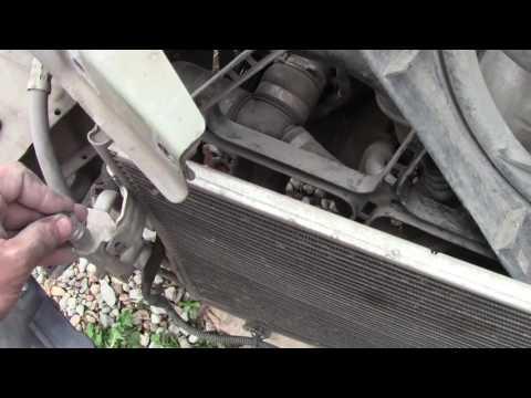 Радиатор кондиционера Opel Astra H