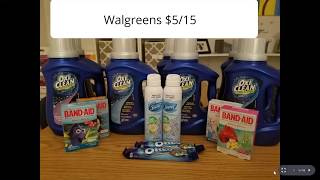 Walgreens  $5/15 Scenarios
