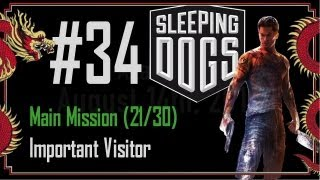 Sleeping Dogs - Walkthrough Part 34 - Main Mission (21/30) - Important Visitor