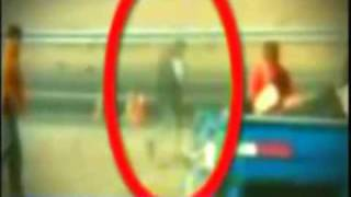 GHOST CAUGHT ON CAMERA: CAR CRASH VICTIMS GHOST LOOKING DOWN ON HIS BODY