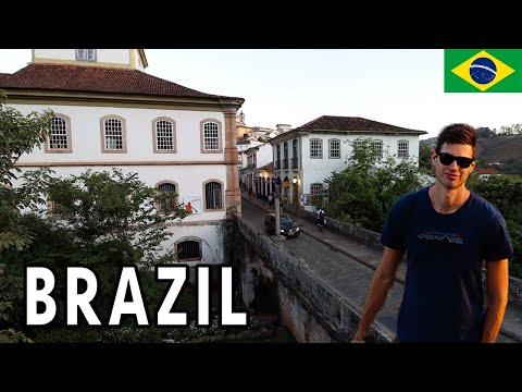 This Is BRAZIL As You've Never Seen Before... 🇧🇷 (UNFORGETTABLE TOWN)
