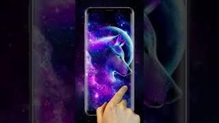 Galaxy Wolf Live Wallpapers Themes screenshot 5