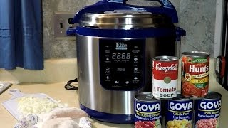 12 Minute Pressure Cooker Chicken Chili Elite